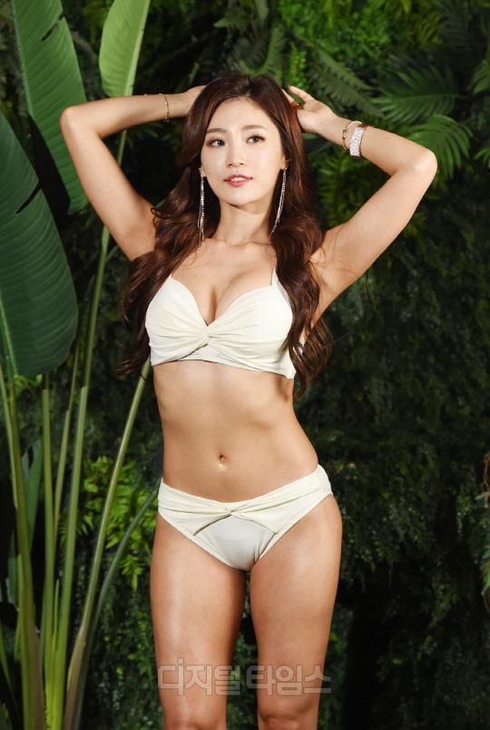 [포토]머슬마니아 정유승, 이기적 각선미